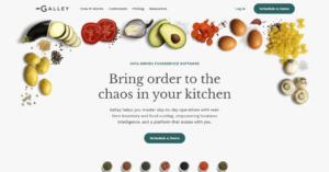 galley food tech copywriter