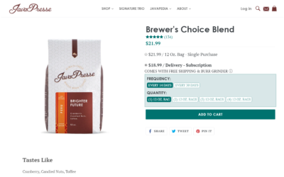 Selling Coffee Online? How To Not Get Lost In The Crowd