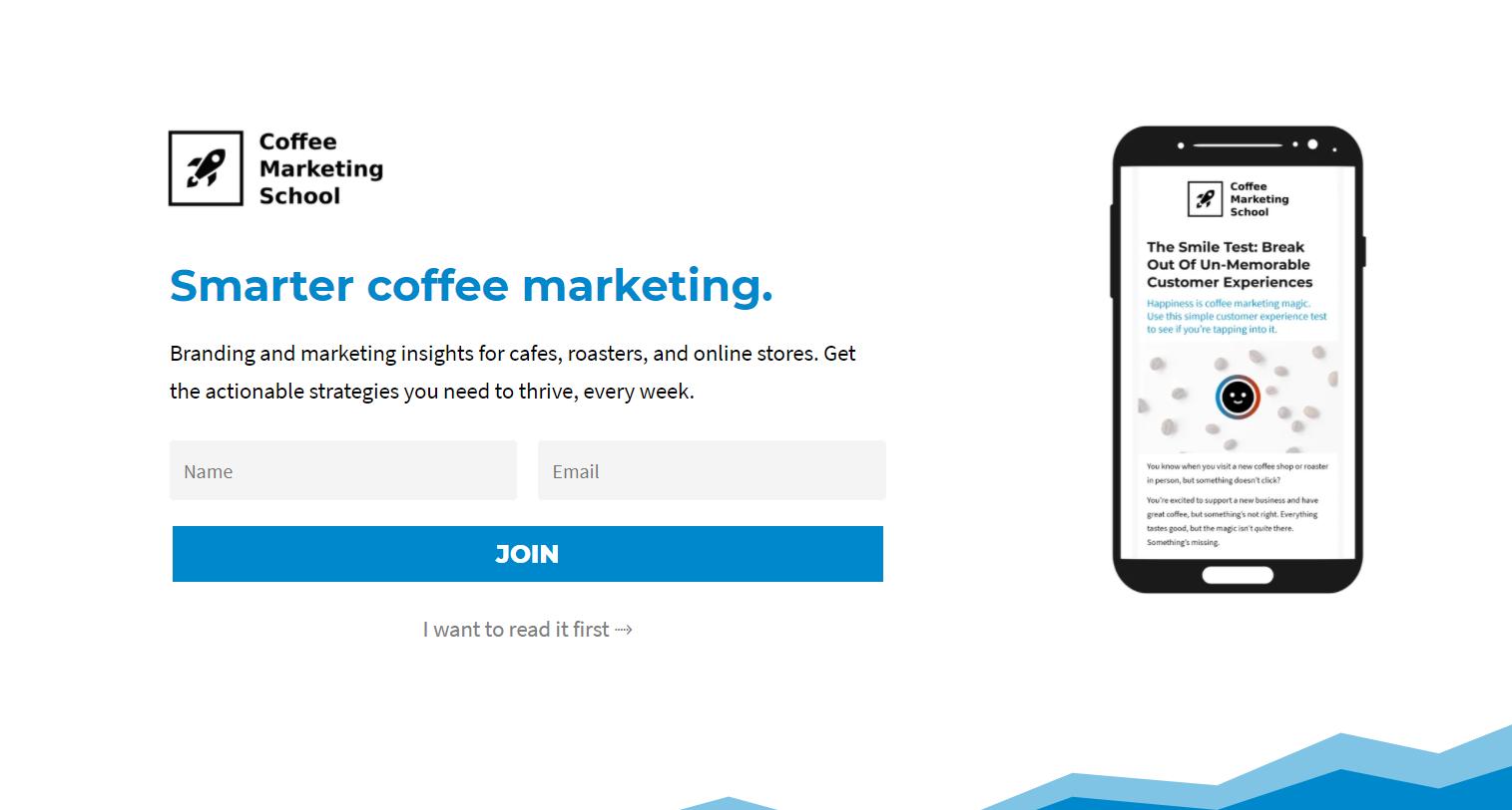 coffee marketing school